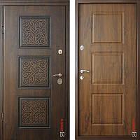 Дверь входная металлическая ZIMEN Ester Pt l Белый патина / Белый l Optima Plus