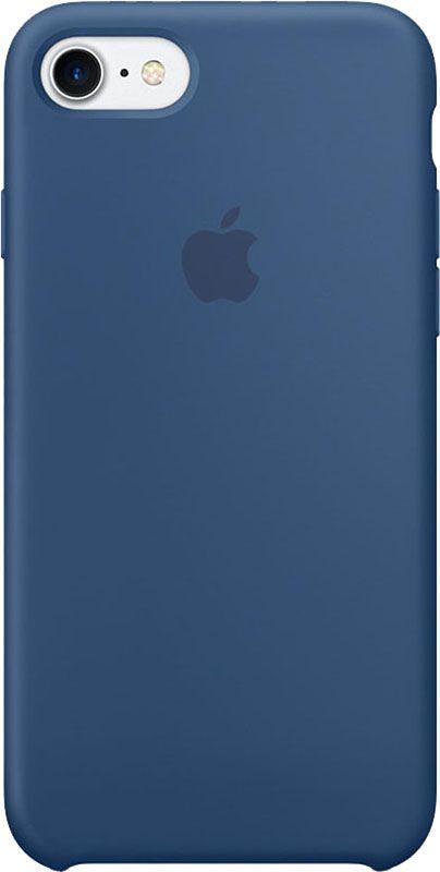 Чехол Apple Silicone Case - для iPhone 7/8 Blue