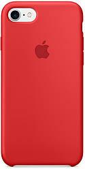 Чехол Apple Silicone Case - для iPhone 7/8 Red