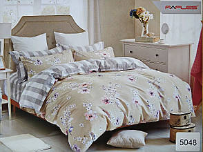Комплект постельного белья ELWAY (Польша) Сатин евро (5048)
