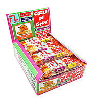 Упаковка батончиков FitLife Crunchy Bar Дыня с белым шоколадом 12 шт х 50 г