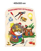 Стенд Опасные игрушки-2