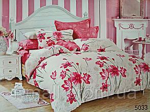 Комплект постельного белья ELWAY (Польша) Сатин евро (5033)