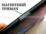 Разноцветный чехол обложка для Pocketbook 616, 627, 632 с рисунком Галактика (Космос), фото 4