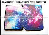Разноцветный чехол обложка для Pocketbook 616, 627, 632 с рисунком Галактика (Космос), фото 3