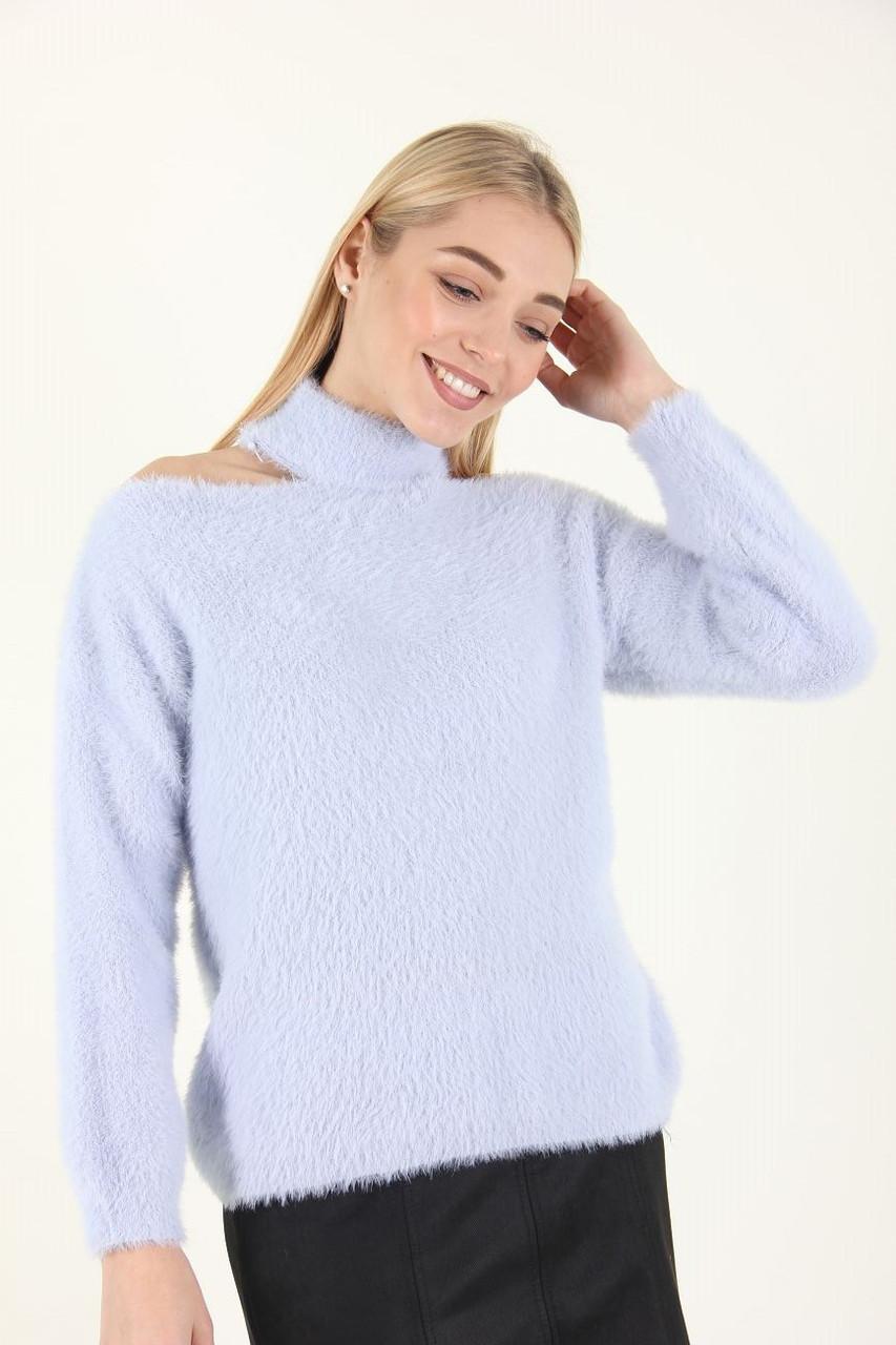 Кофта женская LadiesFashion 667 (Серый L)