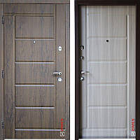 Дверь входная металлическая ZIMEN Stella l Английский Дуб l Optima Plus