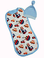 Пеленка кокон для новорожденных Баранчик БО 105-01-04-0097