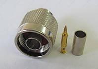N-штекер  обжимной, RG-58 (male/папa)