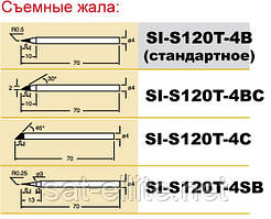 Жало Pro'sKit SI-S120T-4BС срез