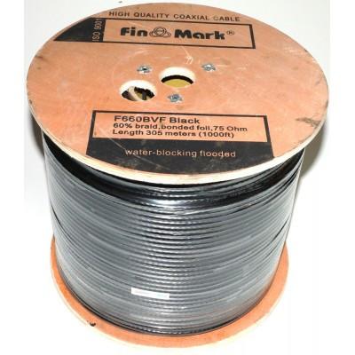TV кабель FinMark F660BVF, черный, 305 м