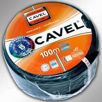 TV кабель 75 Ом CAVEL SAT752F black