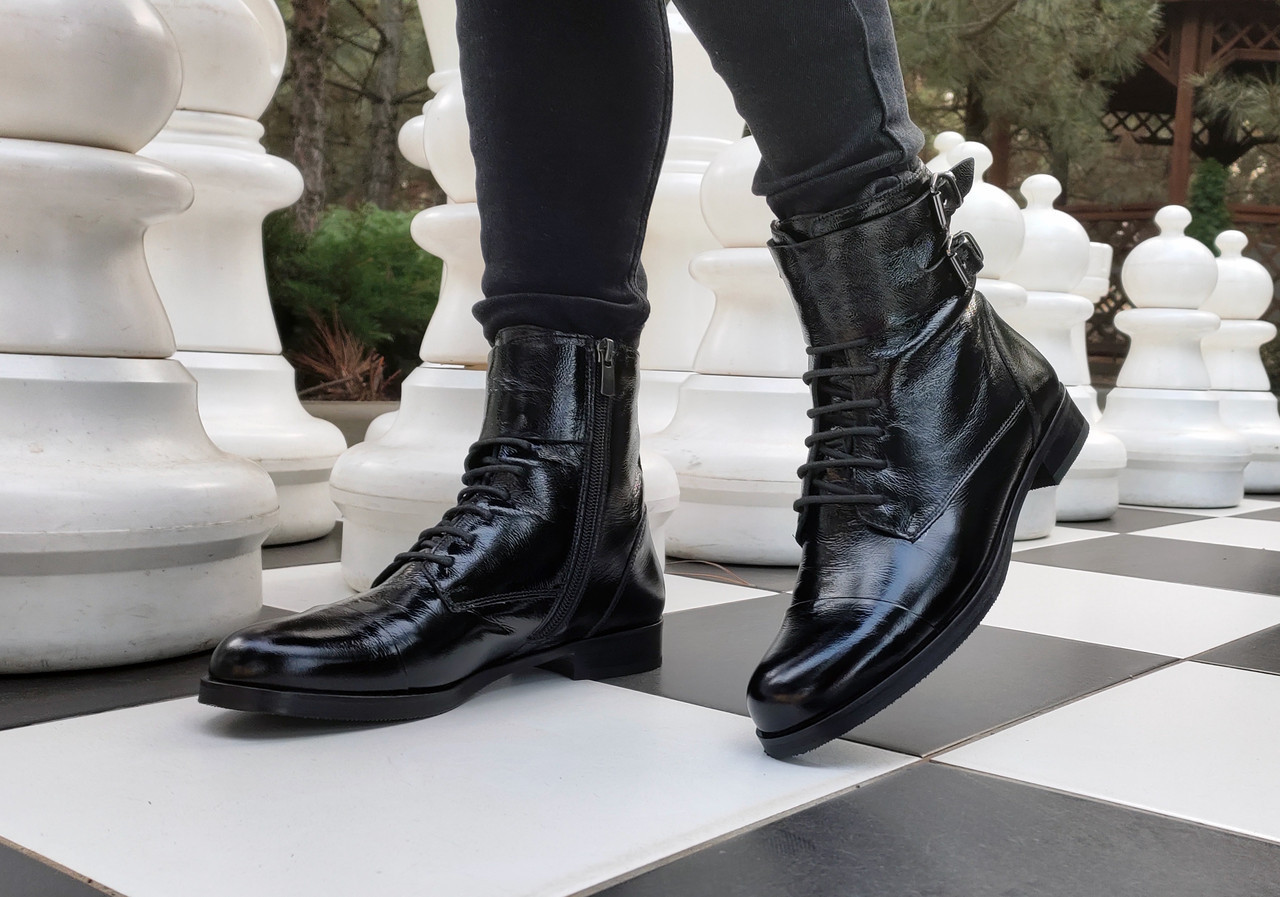 Ботинки Etor 7308-07972 39 черные