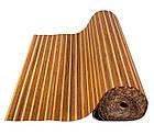 """В пределах отрезка 2,7 м.п. / Бамбуковые обои """"Полосатые 3+1"""", п, 8/8 мм, высота рулона 1,5 м, фото 3"""