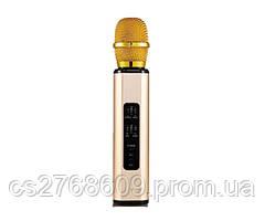 Караоке мікрофон K6 (rose-gold)