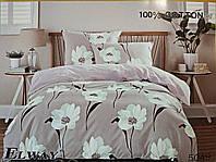 Комплект постельного белья ELWAY (Польша) Сатин евро (5049)