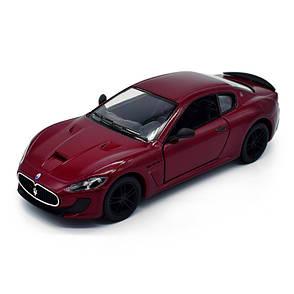Металлическая инерционная машинка Kinsmart Maserati GranTurismo MC Stradale, фото 2