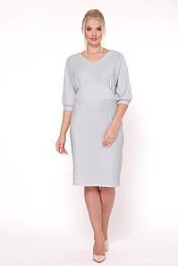 Нарядное платье с люрексом с 50 по 56 размер