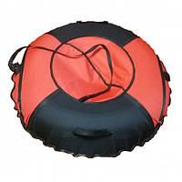 Тюб кольоровий Червоний, надувні санки, 100 см / Тюбинг цветной Red (надувные санки, ватрушки, тобоганы), фото 1