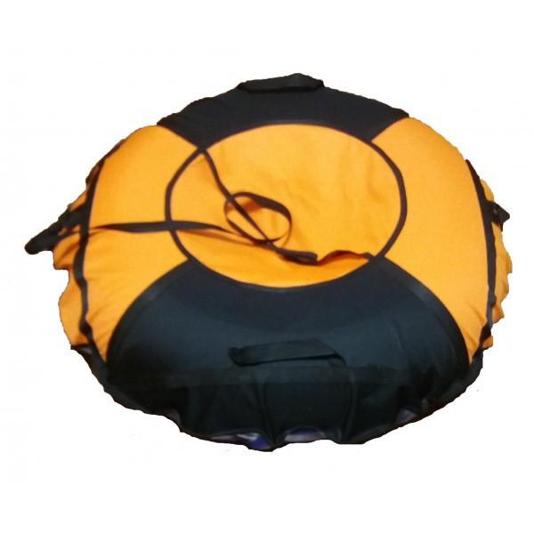 Тюб кольоровий Оранж, надувні санки, 100 см / Тюбинг цветной Orange (надувные санки, ватрушки, тобоганы)