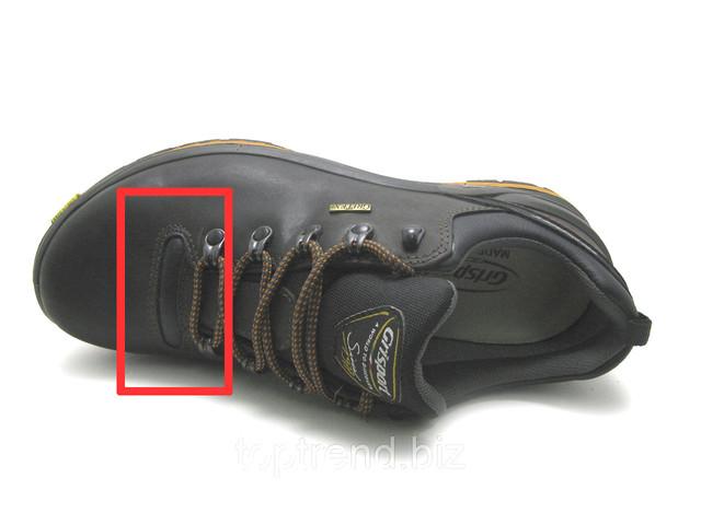 Мужские кожаные нескользящие ботинки
