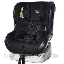 Автокресло детское с рождения до 4 лет черное с наклоном для сна Carrello Omega CRL-11806 Black