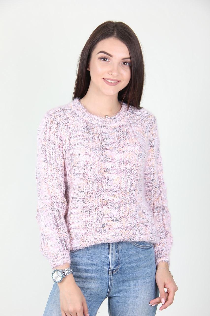 Кофта женская LadiesFashion 132 (Нежно-розовый M/L)