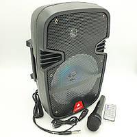 Акустическая система, портативная Bluetooth колонка комбик UKC RE-258, фото 1