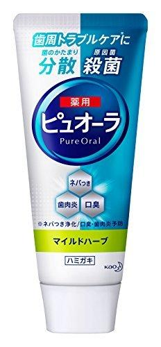 """Зубная паста КAO """"Pyuora Pure Oral"""" антибактериальная для профилактики кариеса и гингивита 115 г (313492)"""