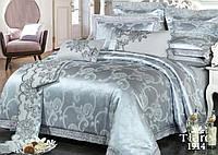 Комплект постельного белья сатин жаккард Tiare  - Двуспальный Евро (1914)