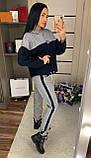 Теплый женский спортивный костюм / плотная двойная ангора / Украина 1-558, фото 3