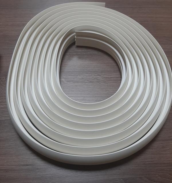 Гибкий порог из термопластика шириной 40 мм длина 6 м