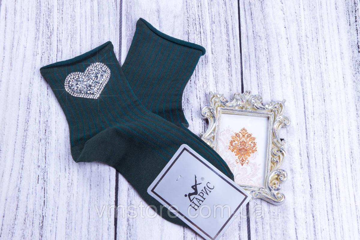 Носки женские с красивой аппликацией