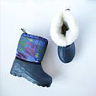 Зимние сапоги - сноубутсы , р. 30, 31, 32, 33, 34, 37 Теплые и легкие. Зима. На меху  из пены ЭВА, фото 2