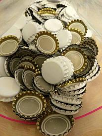 Кроненпробки  для укупорки бутылок 26 мм белая