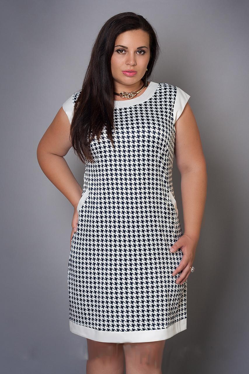 Платье женское больших размеров, размеры 46-48,48-50