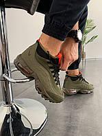 "Мужские зимние кроссовки Nike Air Max Sneakerboot 95 ""Haki"" (Топ качество), фото 1"