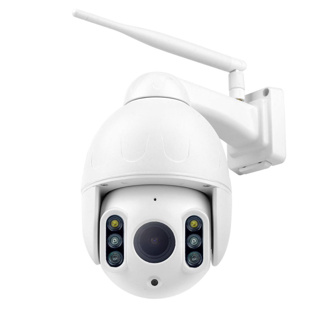 Уличная поворотная WiFi IP камера Wanscam K64A 2 MP Full HD Face Detect