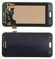 Дисплей модуль Samsung J320H/DS Galaxy J3 (2016) в зборі з тачскріном, чорний
