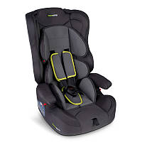 Детское автокресло для ребёнка, дитяче автокрісло Rickokids Elio 9 – 36 кг черное с серым