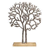 Дерево алюминиевое на подставке 38.5см 109454