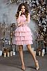 """Коктейльное женское платье с юбкой из сетки """"Missouri"""", фото 4"""