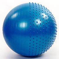 М'яч для фітнесу (фітбол) полумассажний 65 см FI-4437-65