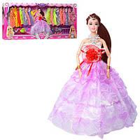 Кукла с нарядами и аксессуарами Charm094-C шарнирная