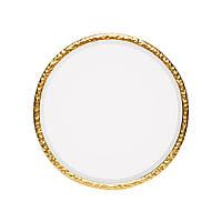 Зеркало настенное круглое золото 39см 109755