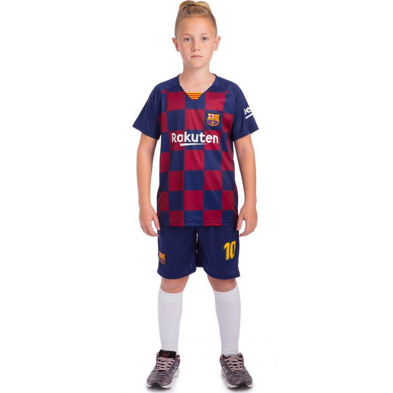 Форма футбольная детская BARCELONA домашняя 2020 SP-Planeta CO-0789 размер 22
