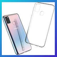 Samsung Galaxy M30s защитный чехол Transparent\ захисний чохол