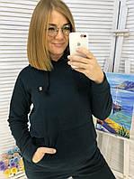 Женский зимний теплый спортивный костюм чёрный бутылка марсала бордо хаки пудра красный 48 50 52 54 56 58 60, фото 1