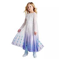 Карнавальный костюм, платье королевыЭльзы ДеЛюкс «Холодное Сердце 2 »,Queen Elsa DeluxeFrozen 2 Disney
