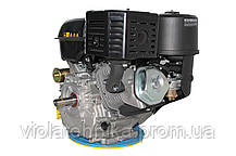 Двигун бензиновий GrunWelt GW460FE-S (18 к. с., шпонка), фото 3